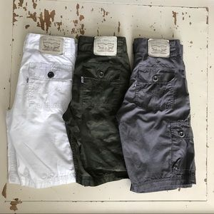 Levi's Zip Fly Shorts for Boys - Bundle of 3